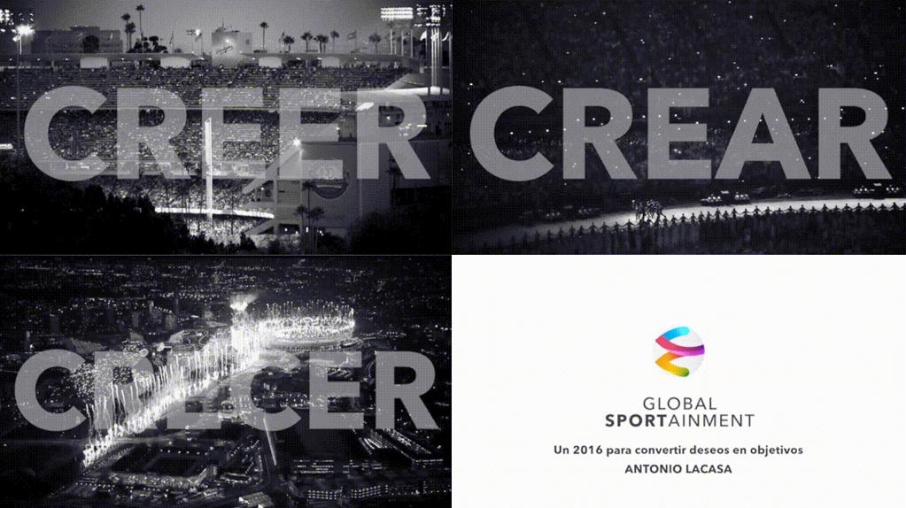 CREER, CREAR, CRECER… en 2016