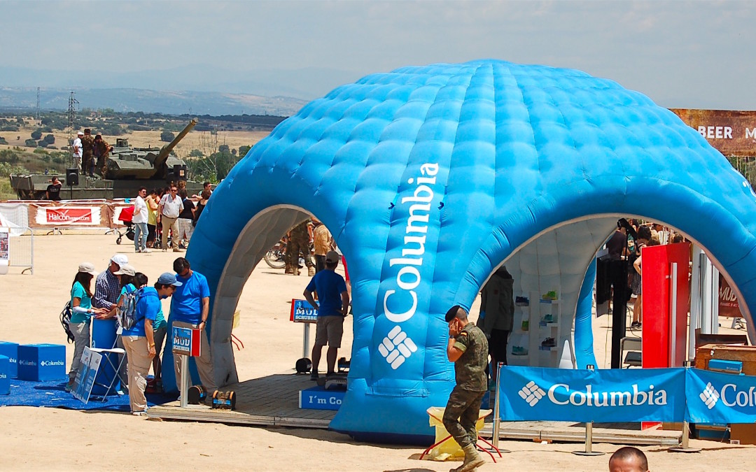 "COLUMBIA activa su patrocinio mas ""cool"" en The Mud Day Madrid"