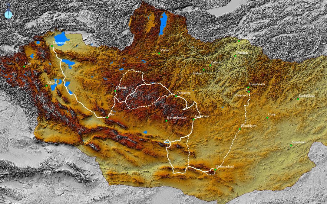 Mongolia inédita, nuevo reto de Juan Sin Miedo