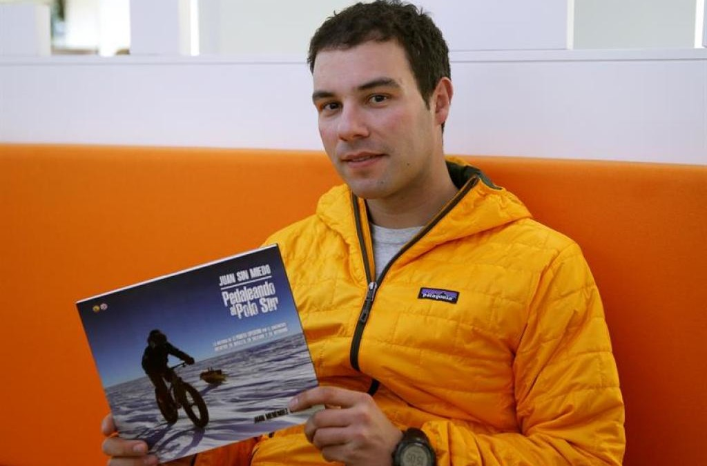 'Juan sin Miedo': del Polo Sur al desierto de Atacama en bicicleta