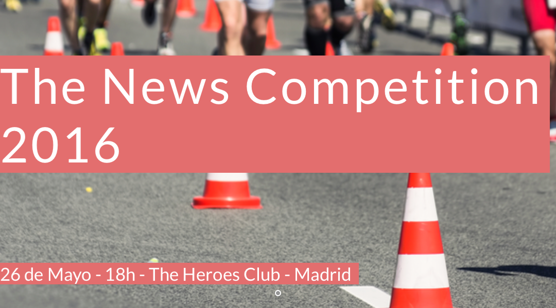 "The News Competition 2016 tratará las ""Narrativas Globales a través del Deporte"""