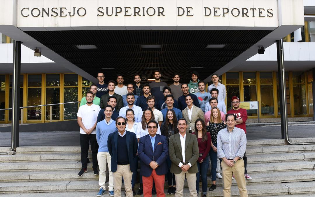Sesión inaugural del MDMD ESIC en el Consejo Superior de Deportes