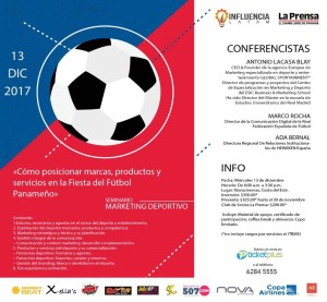 SEMINARIO MARKETING DEPORTIVO PANAMA