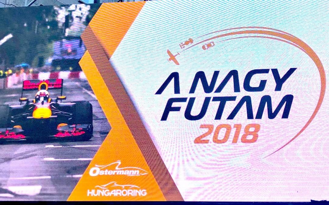 Budapest NAGY FUTAM 2018, cien por cien sportainment