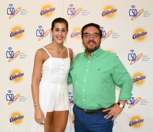 Antonio Lacasa y Carolina Marin