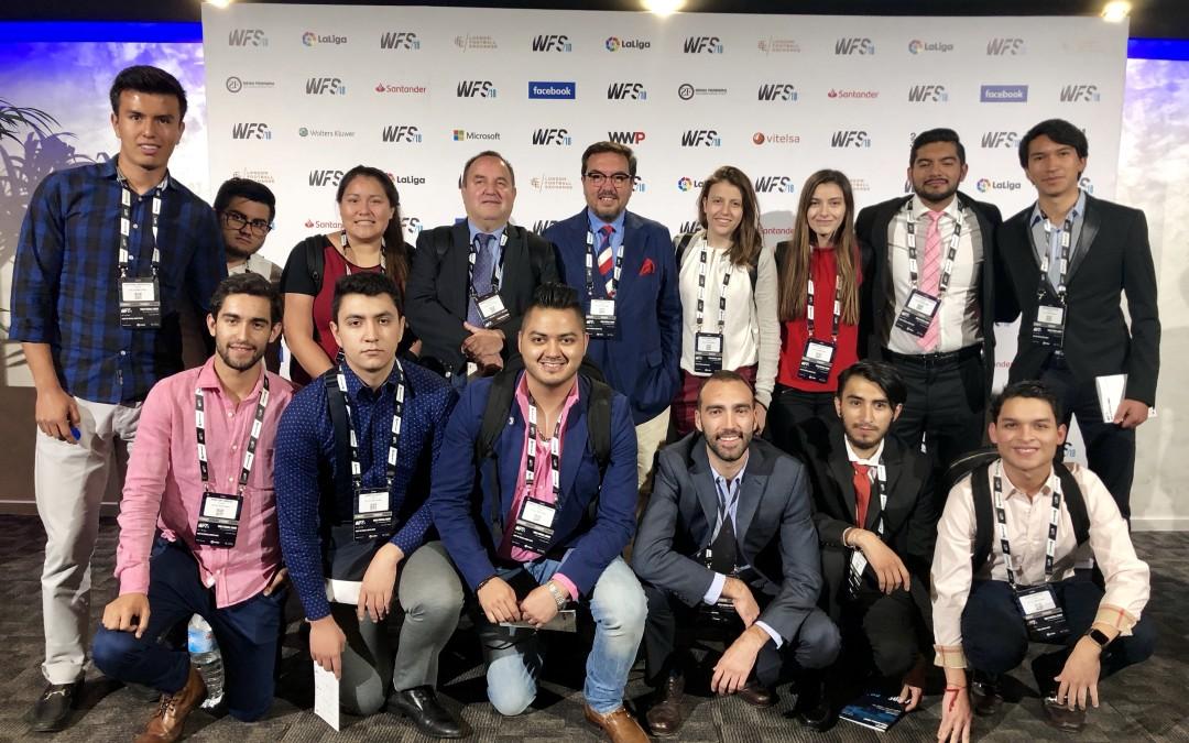"""Alumnos del Tecnológico de Monterrey desarrollan su """"Semana i"""" en España con el Sportainment"""