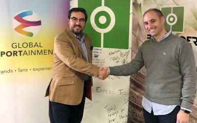BeSoccer y Global Sportainment firman un acuerdo de colaboración estratégica