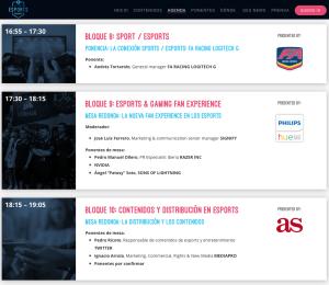 global esports summit agenda