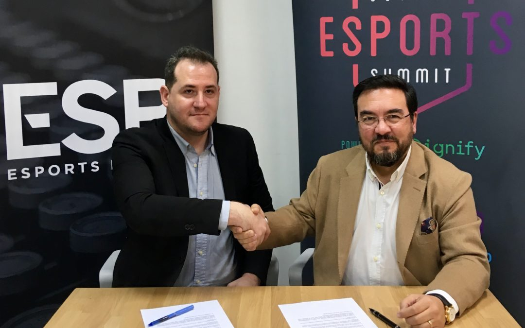 Acuerdo de colaboración Esports Bureau y Global Sportainment, empresa organizadora del Global Esports Summit