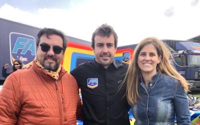 Jornada en el Museo y Circuito Fernando Alonso con el nuevo equipo FA RACING Logitech G