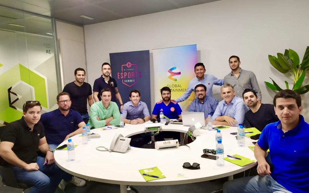Encuentro Global Sportainment y GES con el fútbol y la industria de Paraguay