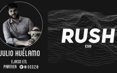 EJASO ETL, Conference Partner del GES20, participa en el RUSH Podcast de Esports Bureau