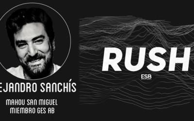 Alejandro Sanchís, consultor de esports de Mahou San Miguel y miembro del GES Advisory Board, invitado del RUSH Podcast de Esports Bureau