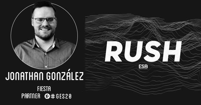 Jonathan González repasa la trayectoria de Fiesta en los esports en el RUSH Podcast de Esports Bureau