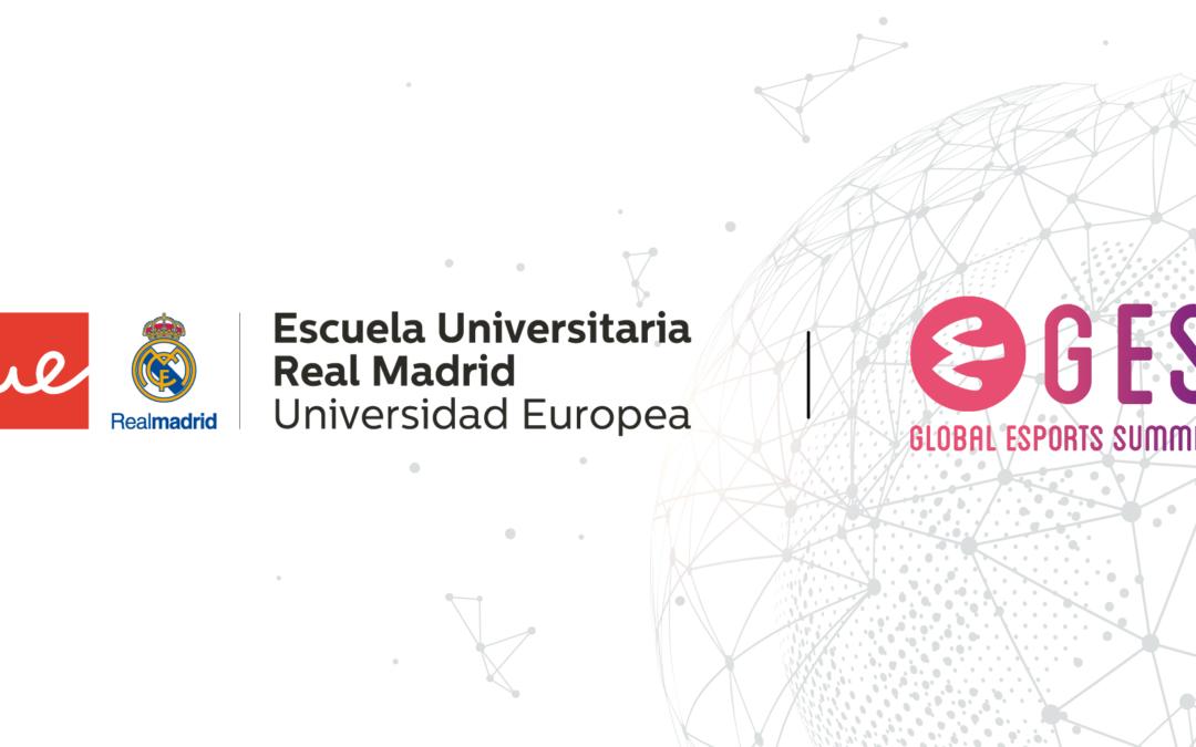 LA ESCUELA UNIVERSITARIA REAL MADRID-UNIVERSIDAD EUROPEA Y GLOBAL ESPORTS SUMMIT FIRMAN UN ACUERDO PARA PROMOVER LOS ESPORTS